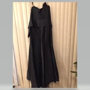 Jovani Dresses - STUNNING BLACK STRAPLESS FORMAL EVENING GOWN 20